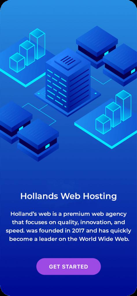 hollands web hosting