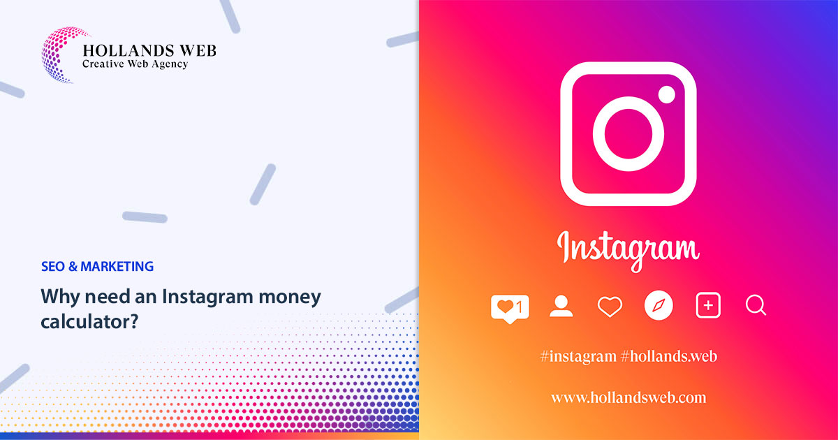 Why need an Instagram money calculator