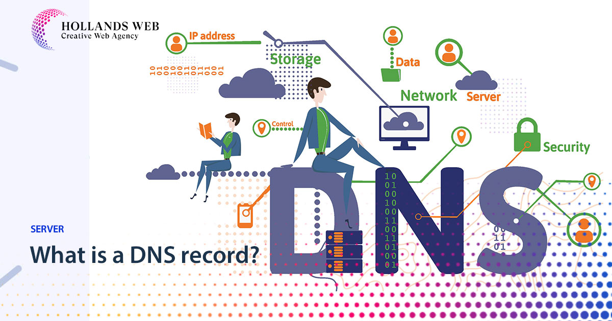 What is a DNS record